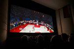 Европейская премьера фильма Движение вверх в Риге, в Доме Москвы