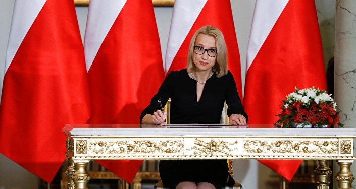 Новый министр финансов Польши Тереза Червинская