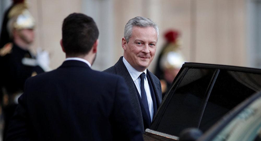 Francijas ekonomikas un finanšu ministrs Bruno Lemērs