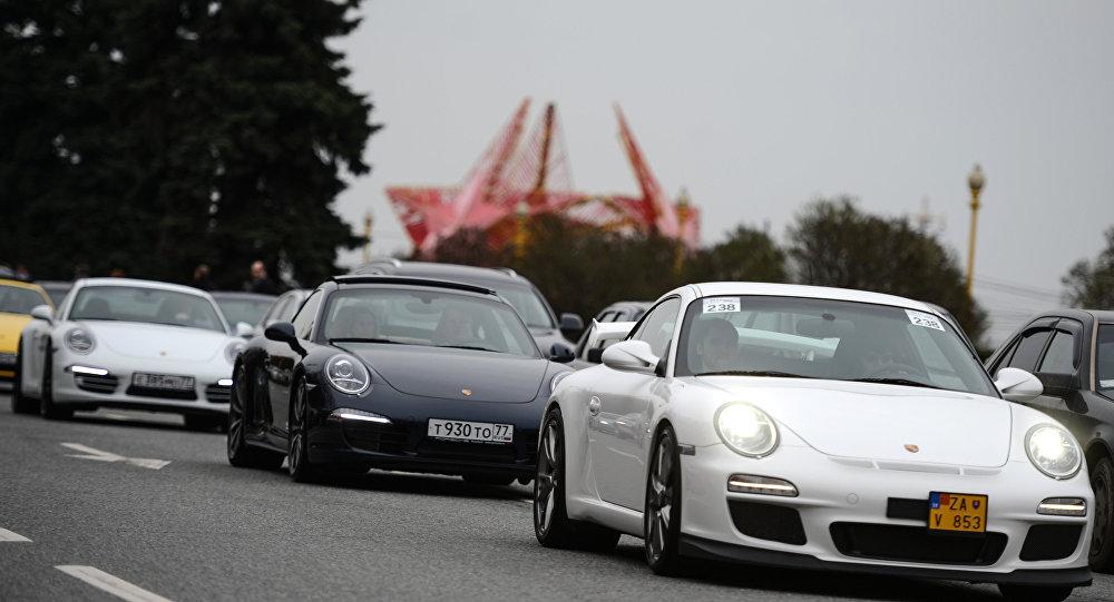 Porsche Parade Maskavā