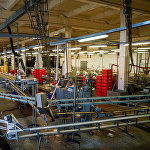 Рыбоперерабатывающий цех на предприятии Brīvais vilnis