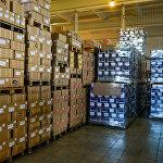 Продукция на складе готовится отправиться к потребителям