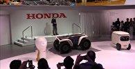Компания Honda представила серию роботов 3E