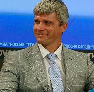 Rēzeknes mērs Aleksandrs Bartaševičs. Foto no arhīva