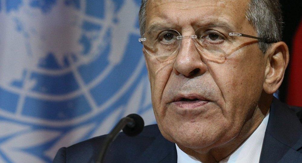 Krievijas ārlietu ministrs Sergejs Lavrovs. Foto no arhīva