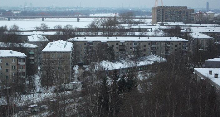 Ķengarags - dzīvojamais rajons Rīgas dienvidu daļā. Foto no arhīva