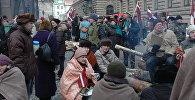 На баррикадах в Старой Риге, январь 1991 года