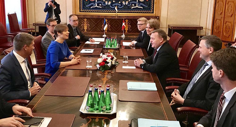 Премьер Дании посетил Тапа