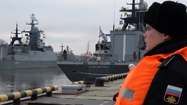 Свыше 35 тысяч морских миль: корабли Балтфлота вернулись на базу