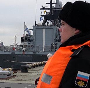 Корабли Балтфлота вернулись на базу после морского похода