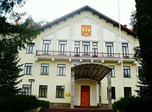 Krievijas vēstniecības ēka Viļņā