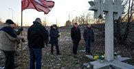 Памятное мероприятие, посвященное событиям 1991 года у моста в Вецмилгрависе, 16 января 2018 года