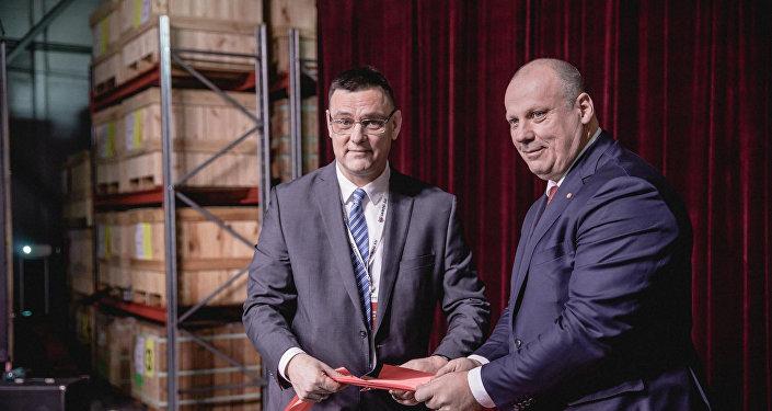 Uzņēmuma VAIROG EU ražošanas atklāšana