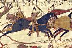Фрагмент гобелена из Байё