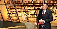 Tautas grāmatu plaukta atklāšana Latvijas Nacionālajā bibliotēkā, 2018. gada 18. janvāris