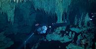 Jūras noslēpumi: Meksikā atrasta lielākā zemūdens ala pasaulē