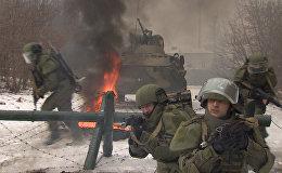 Новейшие штурмовые костюмы ОВР-3Ш на учениях под Владимиром