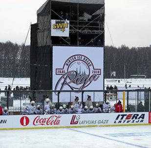 Матч Динамо (Рига) - Динамо (Минск) 20 января 2018 года