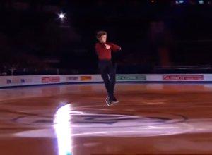 Deniss Vasiļjevs uzstājās Eiropas čempionāta galā priekšnesumā Maskavā