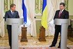 П.Порошенко встретился с Саули Ниинисте