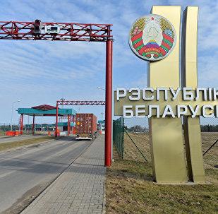 Погранпереход Григоровщина на белорусско-латвийской границе.