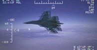 США опубликовали видео перехвата своего самолёта-разведчика российским Су-27