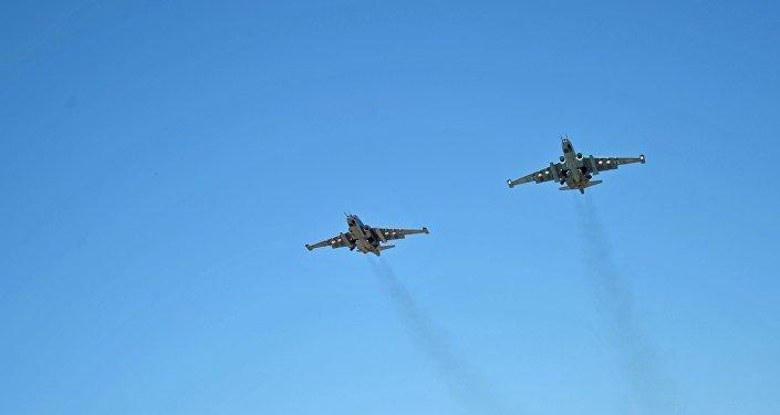 Krievijas kara aviācija Hmeimimas aviobāzē Sīrijā