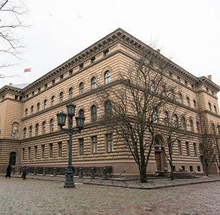 Здание Сейма Латвии