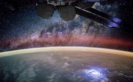 Звезды с борта МКС