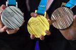 Медали Олимпиады в Пхенчхане 2018 года