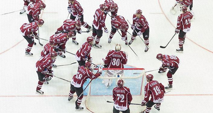Хоккейный клуб «Динамо» Рига. Архивное фото