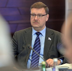KF Federācijas Padomes Starptautisko lietu komitejas priekšsēdētājs Konstantins Kosačovs. Foto no arhīva