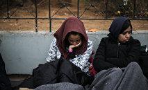 Мигранты из Афганистана