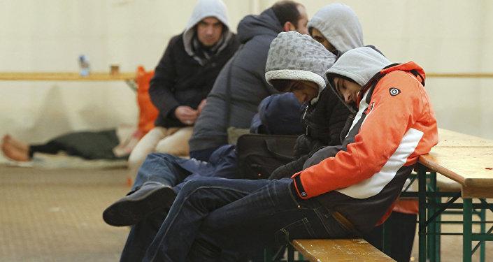 Migranti. Foto no arhīva.
