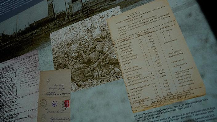 Обновленная экспозиция мемориала памяти жертв нацизма в Саласпилсе