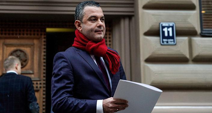 Руководитель фракции Единство в Сейме Хосам Абу Мери