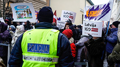 Pikets krievu mācību valodas atbalstam Latvijā