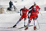 Тренировка олимпийской сборной Норвегии по лыжному спорту в Пхенчхане
