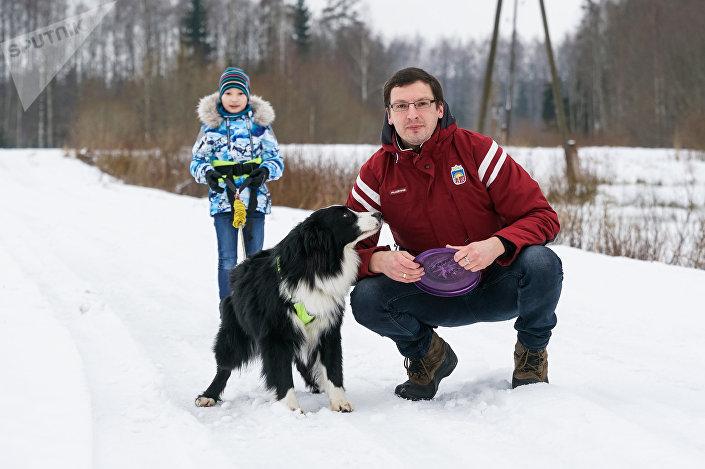 Гиртс Элдманис - собаковод, рейс-маршал гонок на собачьих упряжках