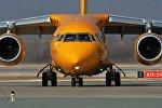 Самолет Ан-148-100В авиакомпании Саратовские авиалинии. Архивное фото