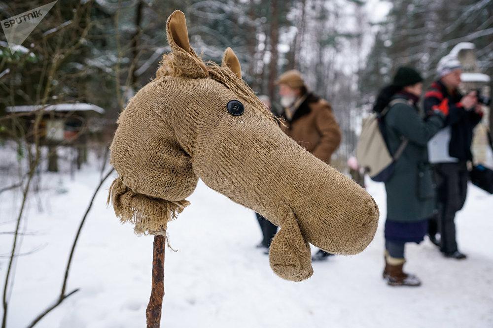 Метени - латышский народный праздник проводов зимы в Латвийском этнографическом музее