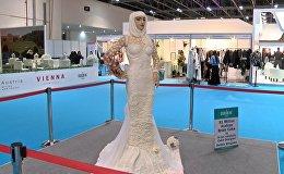 Dubaijā apēsta kāzu torte par miljonu dolāru