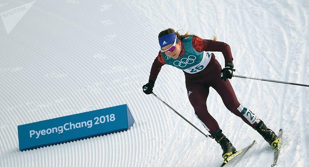 Российская спортсменка Юлия Белорукова
