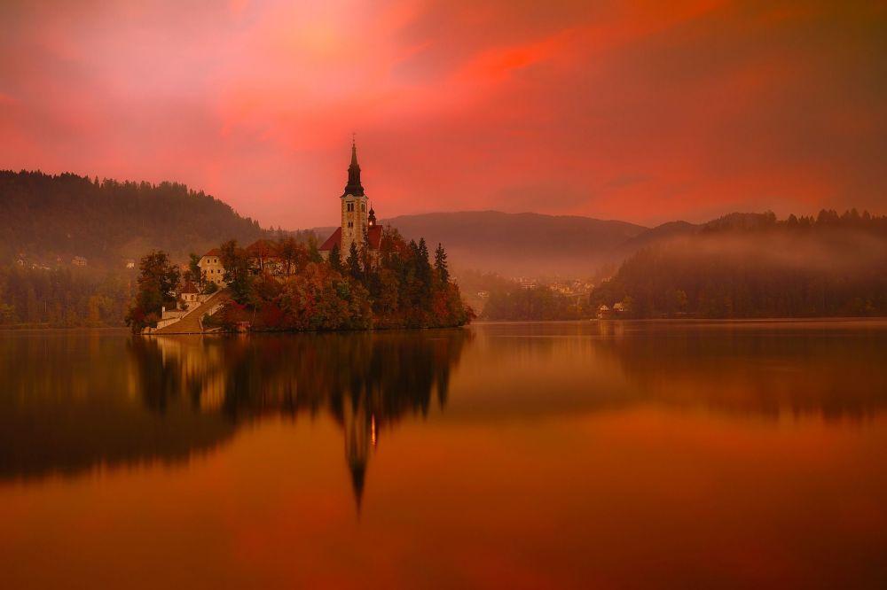 Бледское озеро в Словении