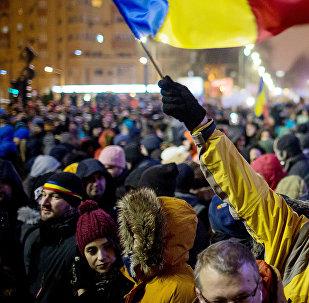 Protesti Rumānijā
