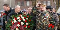 Ветераны-афганцы собрались у памятника воинам-интернационалистам