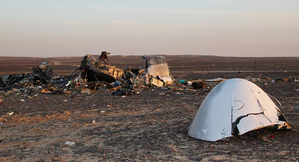 Место крушения самолета Airbus A321 в Египте. Архивное фото