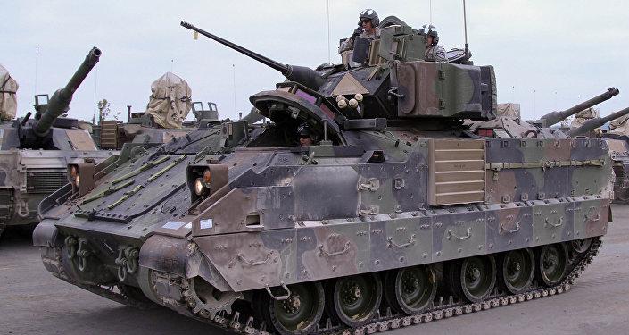 Учения стран НАТО. Архивное фото