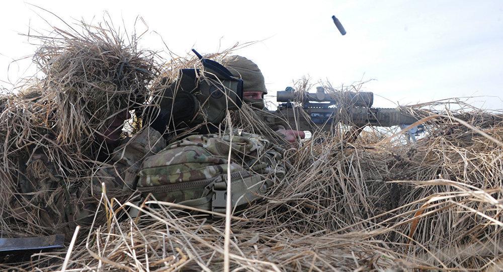 Baltijas valstu un NATO bruņoto spēku kopīgās mācības.  Foto no arhīva