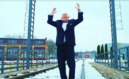 Dīzeļlokomotīves nospēlējušas himnu par godu Lietuvas simtgadei